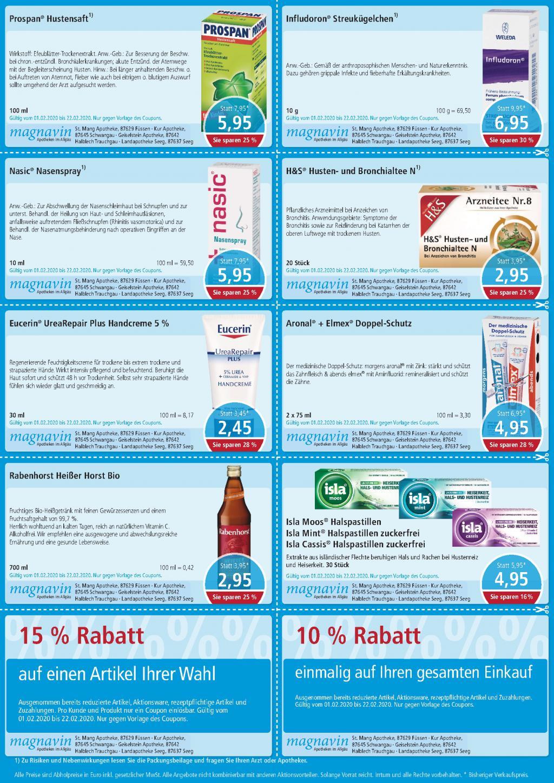 Aktuelle Angebote der Mang Apotheken